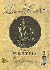 Publicité Advertising 1959  Cognac MARTELL