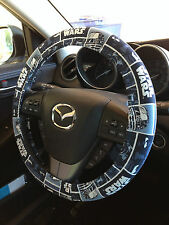 Blue Star Wars Steering Wheel/Seatbelt Cover Combo