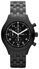 Fossil men's watch Compass chronograph date gun black colour quartz watch JR1439