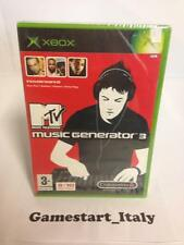 MTV MUSIC GENERATOR 3 (XBOX) NUOVO SIGILLATO NEW PAL VERSION