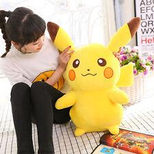 45cm Anime POKEMON Pikachu Soft Plush Toy Kid Large Stuffed Teddy Doll Xmas Gift