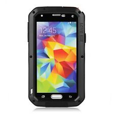 Aus Shock Proof Aluminum Metal Case Cover For Samsung Galaxy S5 i9600G900 Black