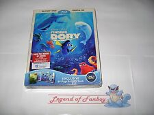 New Sealed * Finding Dory Blu-Ray (+ DVD + Digital HD) + 69 Page Activity Book