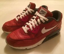 NIKE AIR MAX 90 ID Special Vintage Red Croc Infrared Size 9