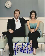 HUGH LAURIE & SELA WARD signed autographed HOUSE M.D. photo