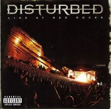 DISTURBED - LIVE AT RED ROCKS - CD SIGILLATO 2016