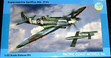 1/32 Pacific Coast 32015  RAF Spitfire MK.XIVc plastic/resin/metal model kit