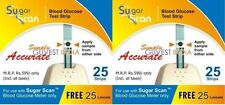 "Wholesale -Thyrocare Sugar Scan ""50 Strips+50 Lancets"" Pack"