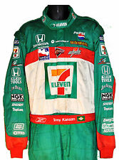 TONY KANAAN RARE 7/11 INDY IRL CREW SUIT WITH TONY'S NAME ON BELT NOT F1