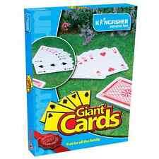 JUMBO GIANT PLAYING CARDS LARGE BIG DECK OF CARDS GAME MAGIC GARDEN OUTDOOR