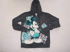 Disney Parks Hoodie Large Mickey Mouse Sweatshirt Womens Gray -1115A46
