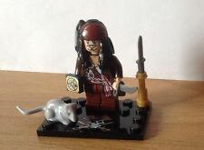 Minifigure Jack Sparrow, Pirati dei Caraibi ---Pirates Of Caribbean--- Nuovo New