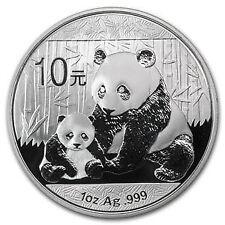 CHINA 2012, 1oz SILVER PANDA B.U.