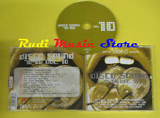 CD DISCO SOUND 70-80 VOL 10 compilation ODYSSEY RIGHEIRA P4F (C2)no lp mc dvd