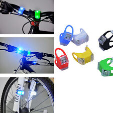 Premium Frog Safety Wheel Light Bike Bicycle Silicone 2X LED Superbright 1pc New