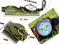 New Lensatic Compass Camping Hiking Army Style Survival Marching Plastic  2016