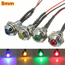 DC 12V LED Indicator Light Lamp Pilot Dash Directional Car Vehicle Truck Boat