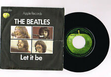 "THE BEATLES ""LET IT BE"" 7 "" FRENCH RARE"