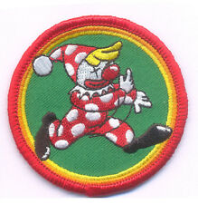 """Clown patch - 2.5""""x2.5"""" with Hook & Loop backing- airsoft paintball"""