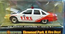 RACING CHAMPIONS 92 1992 CHEVROLET CHEVY CAPRICE ELMWOOD PARK ILLINOIS FIRE CAR