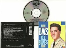 "ELVIS PRESLEY CD ""G.I. BLUES"" 1991 USA 3735-2-R SHE'S ALL MINE WOODEN HEART GI +"