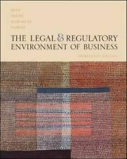 The Legal and Regulatory Environment of Business  Hardcover