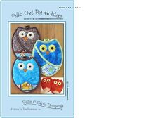 WHO OWL POT HOLDER PATTERN by Susie Shore Designs Pattern Quilting