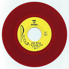 DOO WOP 45 RICHIE & THE ROYALS AND WHEN I'M NEAR YOU ON RELLO  VG+ RED WAX REPRO