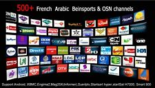 IPTV MAG 254 255 256 OVER 700 CHANNELS 1 year service !!!! ARABIAN, USA,MANY MOR