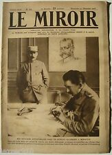 LE MIROIR n°162 ¤ 31/12/1916 ¤ OFFICIERS D'ETAT-MAJOR A MONASTIR