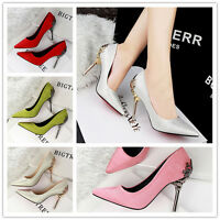 Women's Ladies High Heeled Pointy Toes Sexy Stiletto Wedding Party Shoes Sandals
