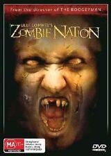 ZOMBIE NATION DVD 2004 = ZULLI LOMMEL =  ALL PAL = SEALED