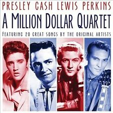 THE MILLION DOLLAR QUARTET [ELVIS PRESLEY/JERRY LEE LEWIS/JOHNNY CASH/THE MILLIO