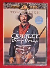 QUIGLEY DOWN UNDER DVD Tom Selleck Bonus Behind the Scenes Features MGM