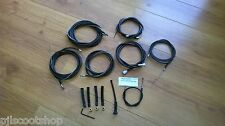SCOOTER LI SERIES 2 BLACK NYLON LINED FRICTION FREE. COMPLETE SET & PARTS. NEW