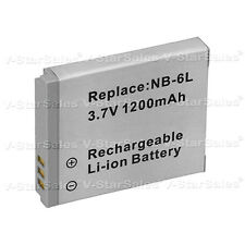 NB-6L NB-6LH Battery for Canon Powershot D10 D20 S90 S95 SD770