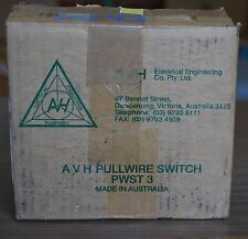 AVH Pull-wire Safety Switch  PWST 3 - 3 make 3 break ratings 20A NEW