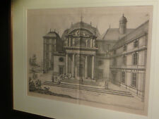 [ARCHITECTURE JANSENISME] LE PAUTRE / LEPAUTRE / LE PAULTRE - Eglise Port-Royal.