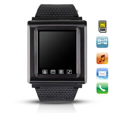 "New 1.7"" GSM Unlocked AK812 Mobile Cell Phone Watch Touch Screen Mp3/4 Bluetooth"