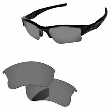 c54dd322268 Black Iridium Polarized Replacement Lenses for Flak Jacket XLJ Sunglasses