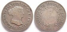 Lucca 5 franchi 1805.