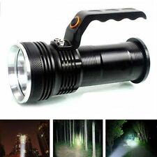 CREE XM-L 3000LM Rechargeable Police Tactical LED Flashlight Torch Handheld Lamp