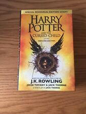Harry Potter & The Cursed Child Parts 1 & 2 *NEW* HB UK 2016 J K Rowling