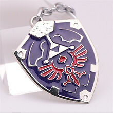 Legend of Zelda Hyrule Hylian Shield Metal Keychain - BRAND NEW - FREE SHIPPING