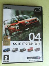 dvd gioco colin mcrae rally 04