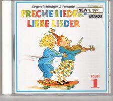 (GK669) Freche Lieder - Liebe Lieder Folge 1 - 1987 CD