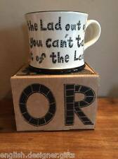 NEW Moorland Pottery Yorkshire Lad mug - Gift Boxed