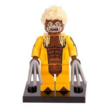 Custom Sabretooth Minifigure X-Men Origin Marvel fits with Lego pg034 UK Seller