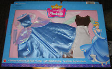 Disney Ex CINDERELLA doll Deluxe Fashion Giftpack doll ballgown ragdress costume
