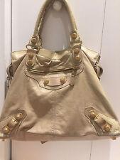 Balenciaga Beige Handbag with Gold , Fair Condition!! OLGACRES